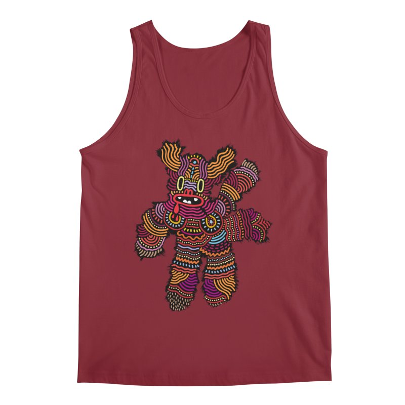 Monster of the day (June 26) [Year 1] Men's Regular Tank by Daily Monster Shop by Royal Glamsters