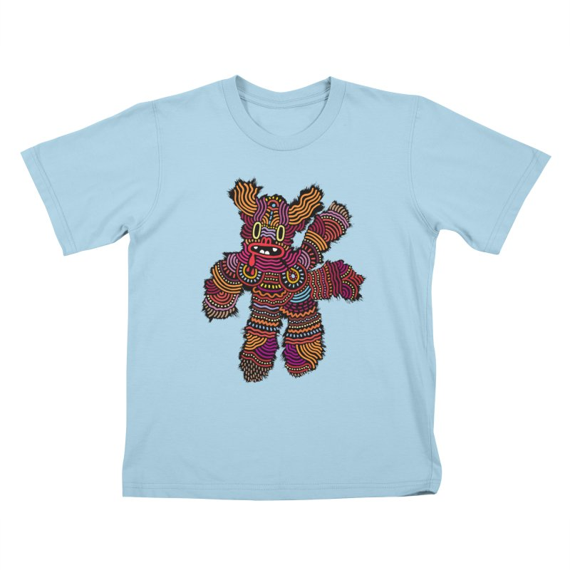 Monster of the day (June 26) [Year 1] Kids T-Shirt by Daily Monster Shop by Royal Glamsters
