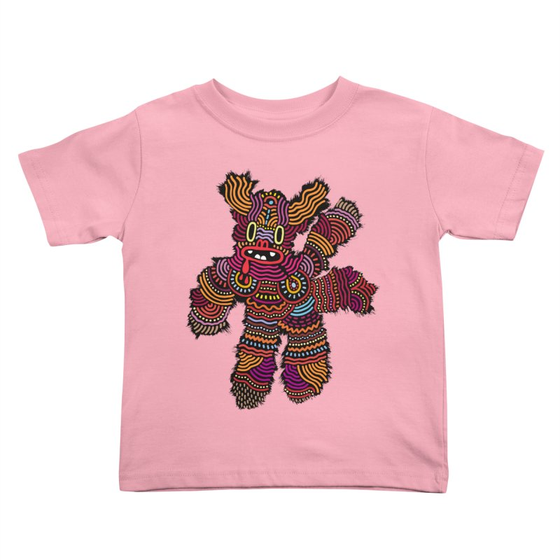 Monster of the day (June 26) [Year 1] Kids Toddler T-Shirt by Daily Monster Shop by Royal Glamsters