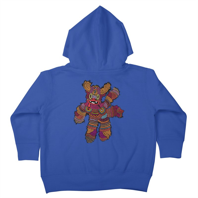 Monster of the day (June 26) [Year 1] Kids Toddler Zip-Up Hoody by Daily Monster Shop by Royal Glamsters