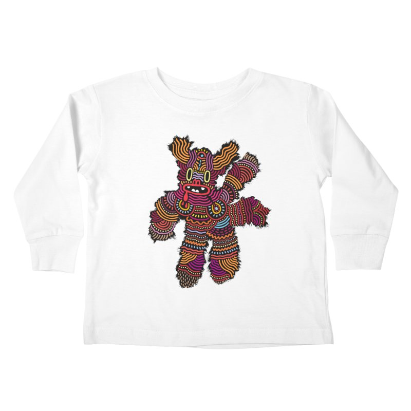 Monster of the day (June 26) [Year 1] Kids Toddler Longsleeve T-Shirt by Daily Monster Shop by Royal Glamsters
