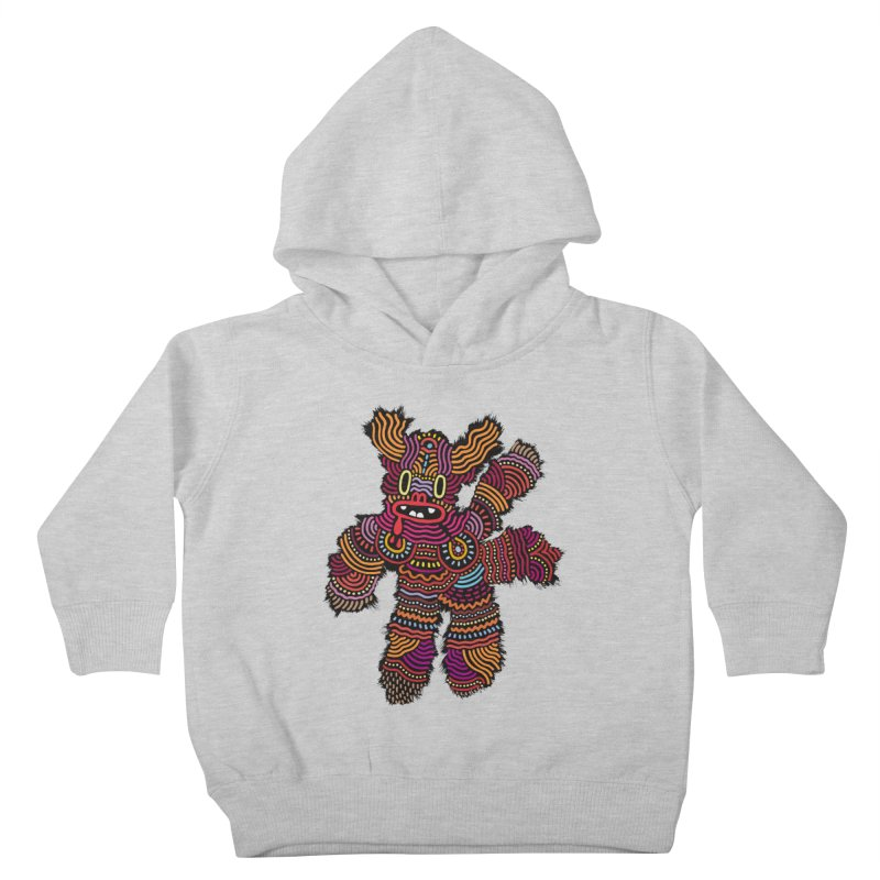 Monster of the day (June 26) [Year 1] Kids Toddler Pullover Hoody by Daily Monster Shop by Royal Glamsters