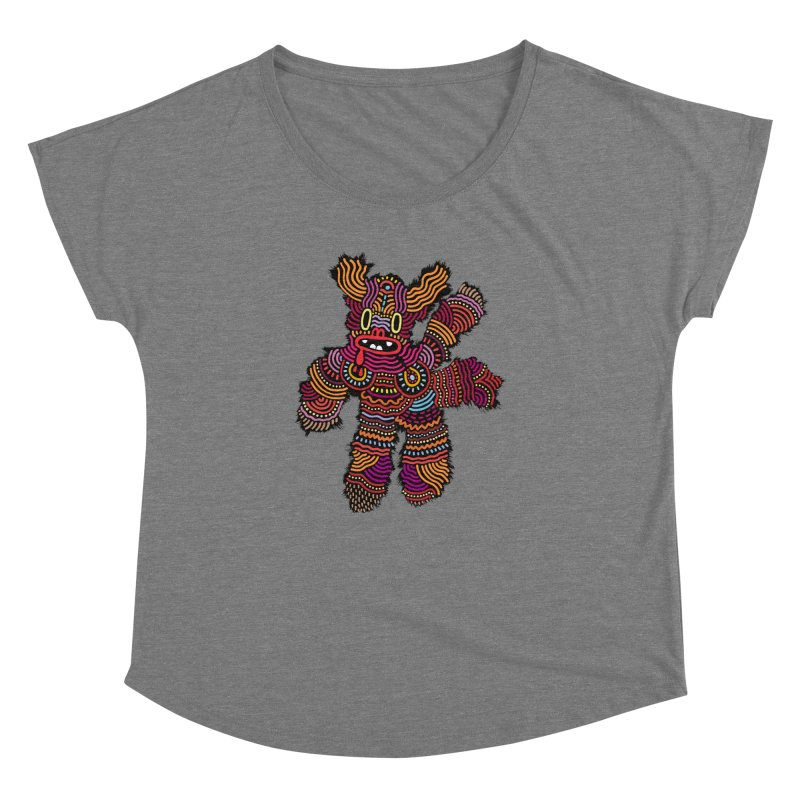 Monster of the day (June 26) [Year 1] Women's Scoop Neck by Daily Monster Shop by Royal Glamsters