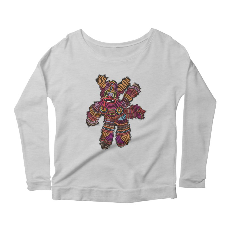 Monster of the day (June 26) [Year 1] Women's Longsleeve T-Shirt by Daily Monster Shop by Royal Glamsters