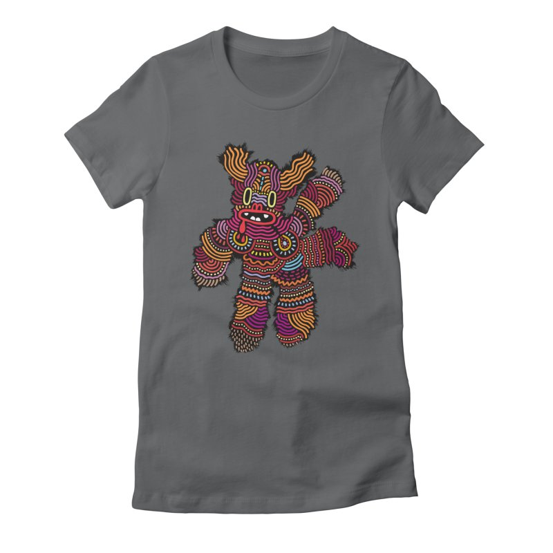 Monster of the day (June 26) [Year 1] Women's Fitted T-Shirt by Daily Monster Shop by Royal Glamsters