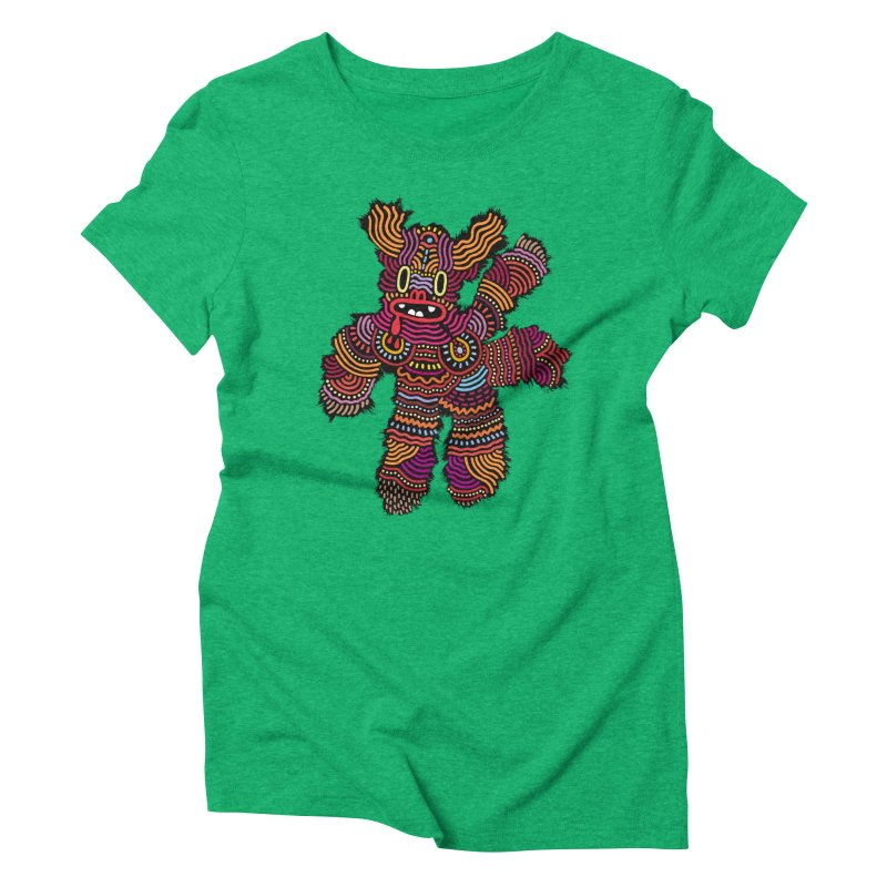 Monster of the day (June 26) [Year 1] Women's Triblend T-Shirt by Daily Monster Shop by Royal Glamsters