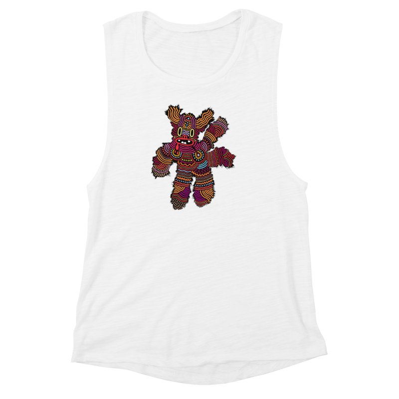 Monster of the day (June 26) [Year 1] Women's Muscle Tank by Daily Monster Shop by Royal Glamsters