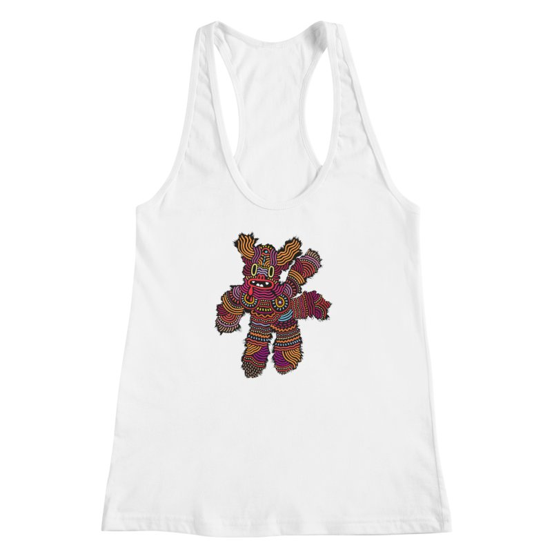 Monster of the day (June 26) [Year 1] Women's Racerback Tank by Daily Monster Shop by Royal Glamsters