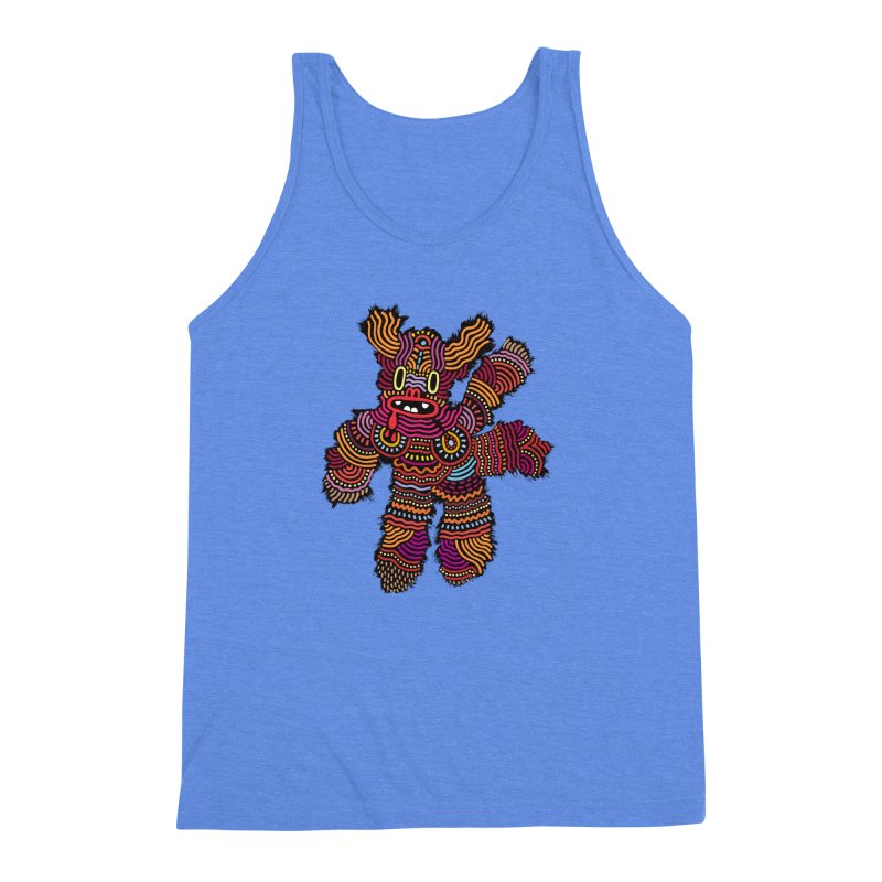 Monster of the day (June 26) [Year 1] Men's Triblend Tank by Daily Monster Shop by Royal Glamsters