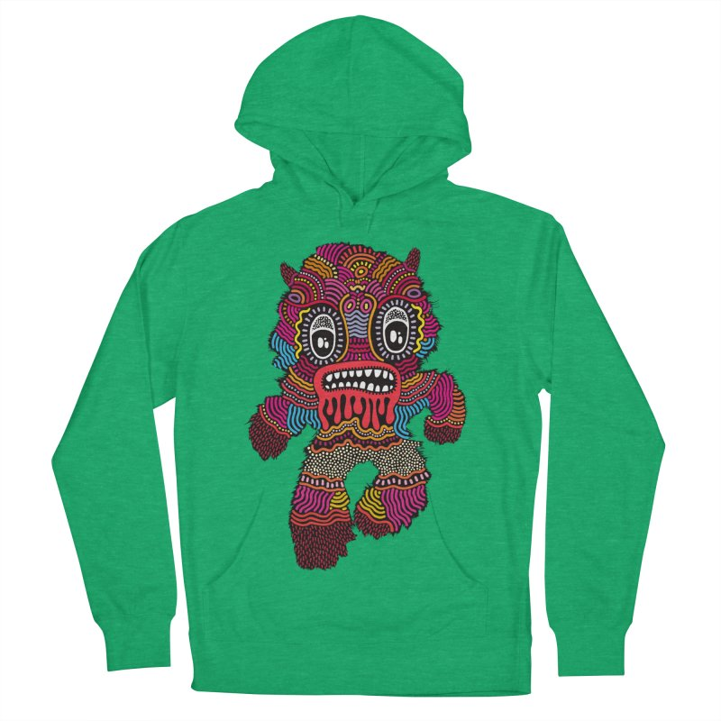 Monster of the day (June 20) [Year 1] Men's French Terry Pullover Hoody by Daily Monster Shop by Royal Glamsters