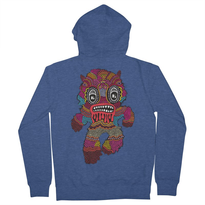 Monster of the day (June 20) [Year 1] Women's French Terry Zip-Up Hoody by Daily Monster Shop by Royal Glamsters
