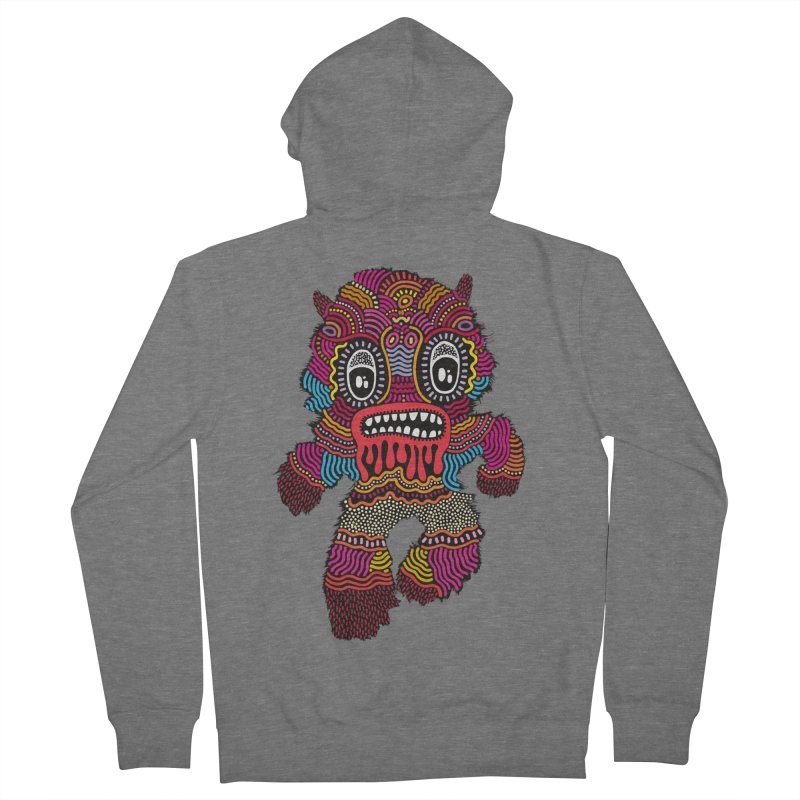 Monster of the day (June 20) [Year 1] Men's Zip-Up Hoody by Daily Monster Shop by Royal Glamsters