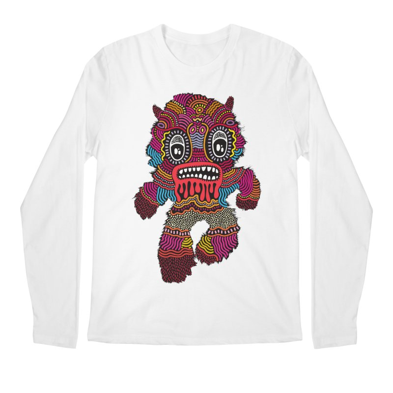 Monster of the day (June 20) [Year 1] Men's Regular Longsleeve T-Shirt by Daily Monster Shop by Royal Glamsters