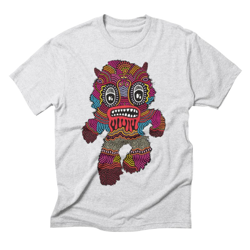 Monster of the day (June 20) [Year 1] Men's Triblend T-Shirt by Daily Monster Shop by Royal Glamsters