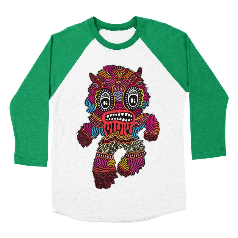 Monster of the day (June 20) [Year 1] Women's Baseball Triblend T-Shirt by Daily Monster Shop by Royal Glamsters