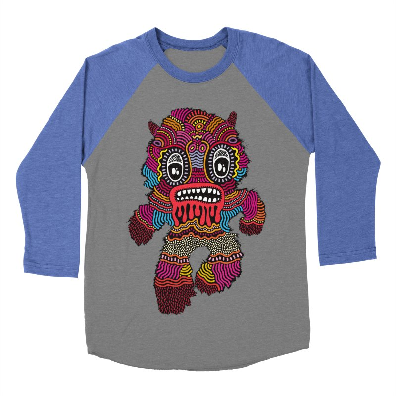 Monster of the day (June 20) [Year 1] Men's Baseball Triblend T-Shirt by Daily Monster Shop by Royal Glamsters