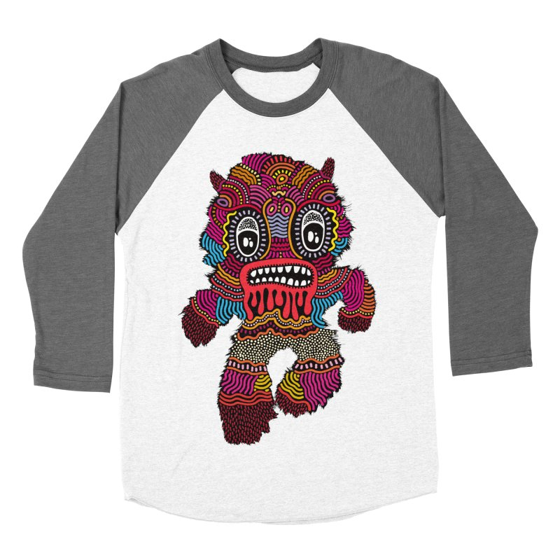 Monster of the day (June 20) [Year 1] Men's Baseball Triblend Longsleeve T-Shirt by Daily Monster Shop by Royal Glamsters