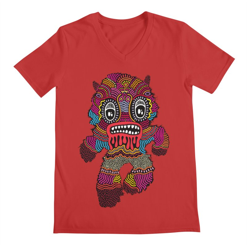 Monster of the day (June 20) [Year 1] Men's Regular V-Neck by Daily Monster Shop by Royal Glamsters