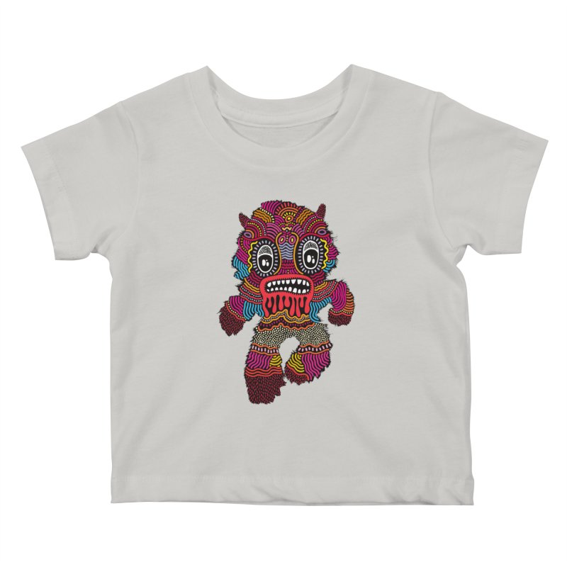 Monster of the day (June 20) [Year 1] Kids Baby T-Shirt by Daily Monster Shop by Royal Glamsters