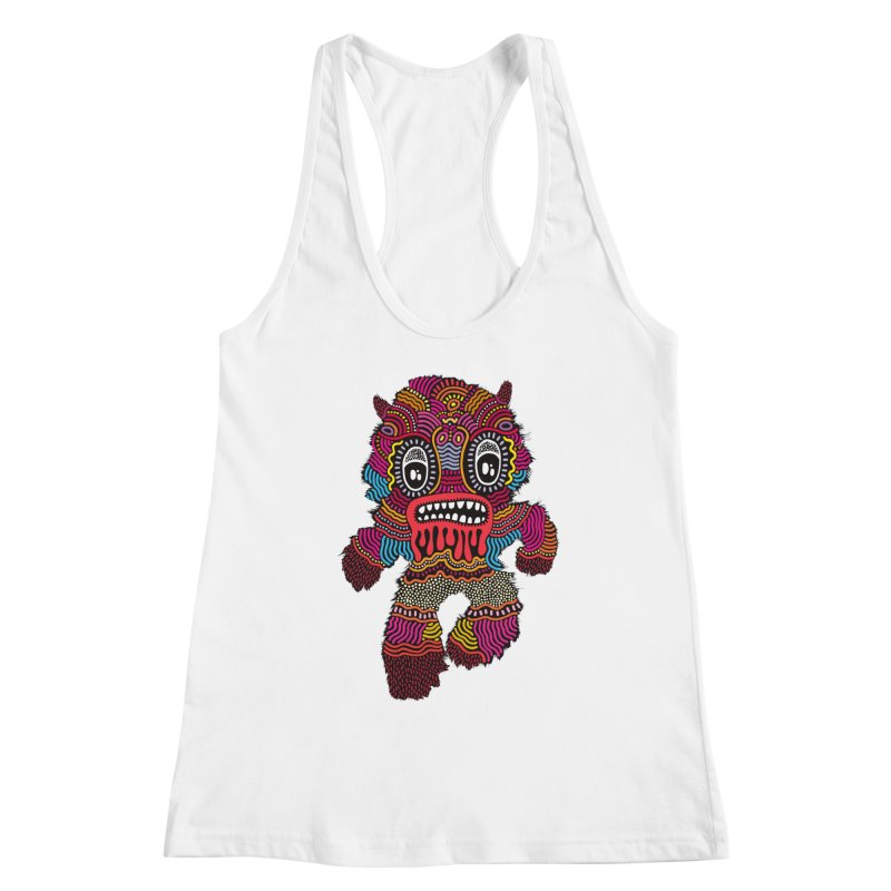 Monster of the day (June 20) [Year 1] Women's Racerback Tank by Daily Monster Shop by Royal Glamsters