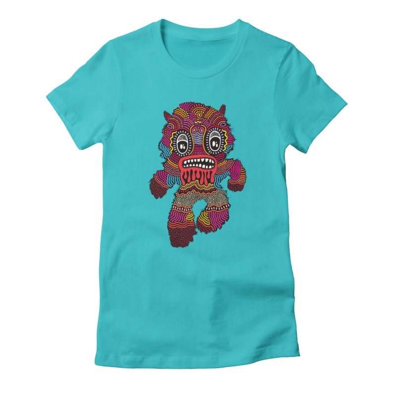 Monster of the day (June 20) [Year 1] Women's T-Shirt by Daily Monster Shop by Royal Glamsters