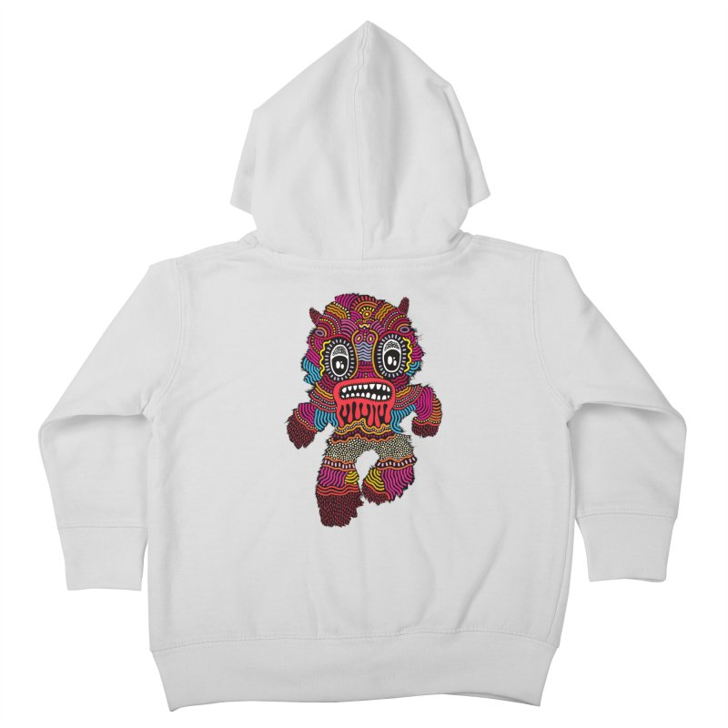 Monster of the day (June 20) [Year 1] Kids Toddler Zip-Up Hoody by Daily Monster Shop by Royal Glamsters