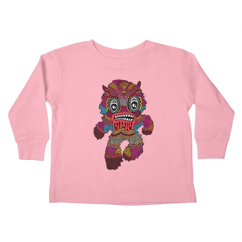 Monster of the day (June 20) [Year 1] Kids Toddler Longsleeve T-Shirt by Daily Monster Shop by Royal Glamsters