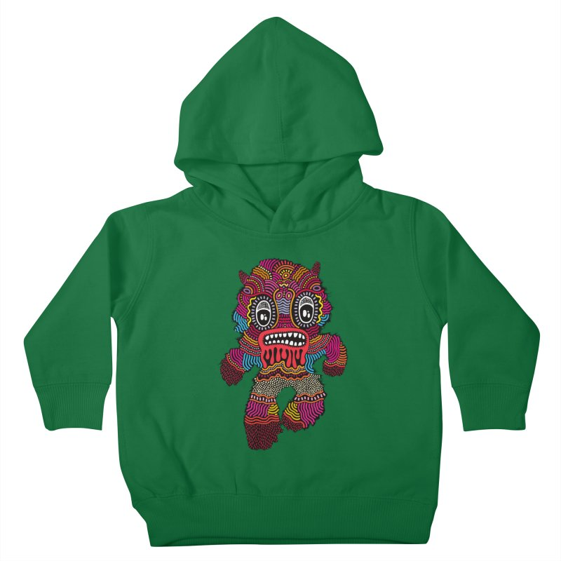 Monster of the day (June 20) [Year 1] Kids Toddler Pullover Hoody by Daily Monster Shop by Royal Glamsters