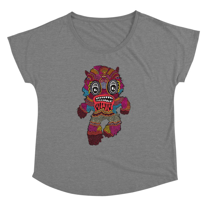 Monster of the day (June 20) [Year 1] Women's Dolman Scoop Neck by Daily Monster Shop by Royal Glamsters