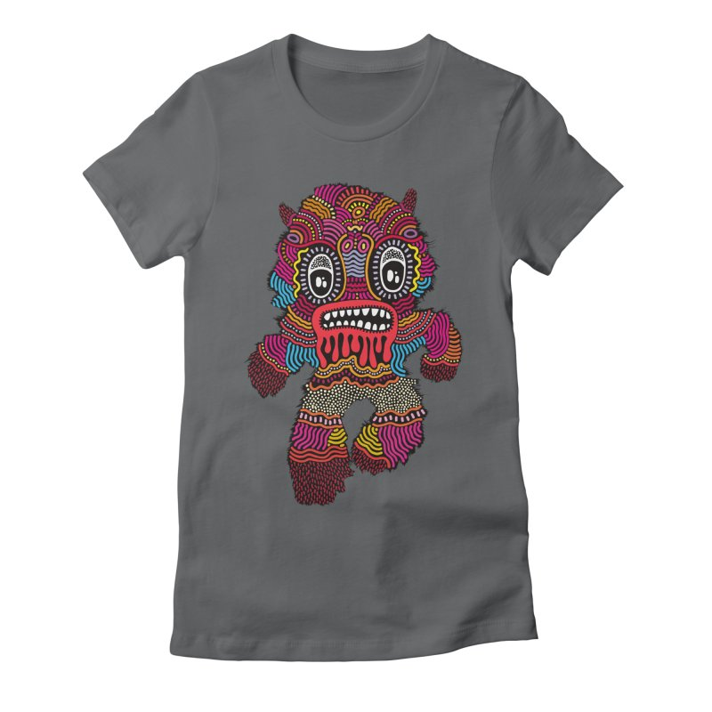 Monster of the day (June 20) [Year 1] Women's Fitted T-Shirt by Daily Monster Shop by Royal Glamsters