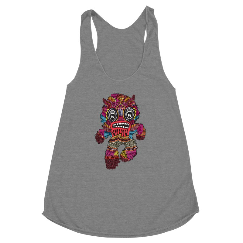 Monster of the day (June 20) [Year 1] Women's Racerback Triblend Tank by Daily Monster Shop by Royal Glamsters