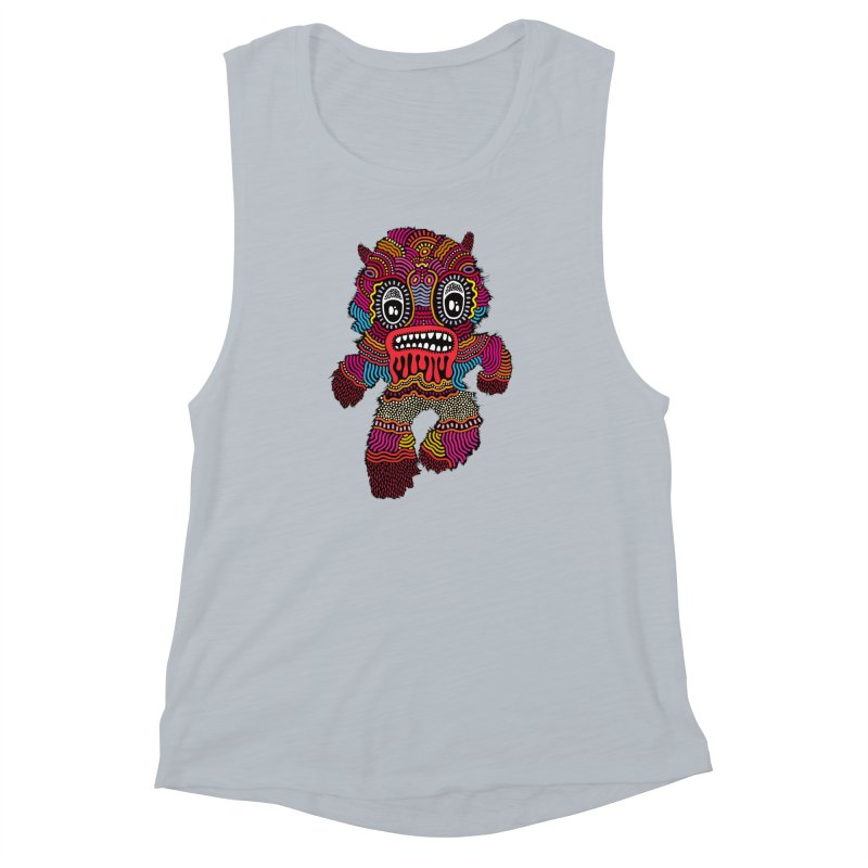 Monster of the day (June 20) [Year 1] Women's Muscle Tank by Daily Monster Shop by Royal Glamsters