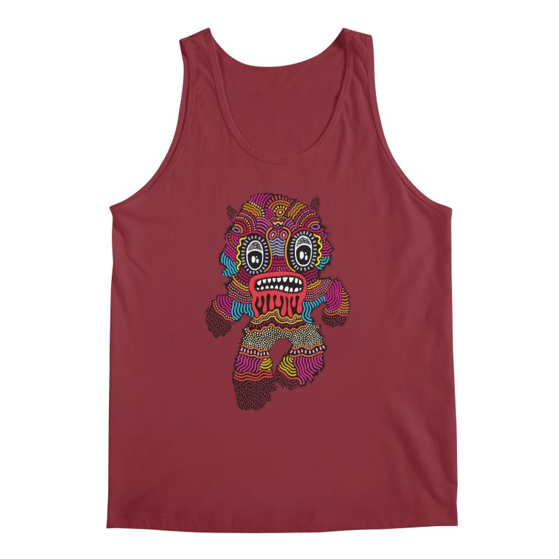 Monster of the day (June 20) [Year 1] Men's Tank by Daily Monster Shop by Royal Glamsters