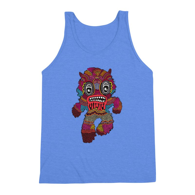 Monster of the day (June 20) [Year 1] Men's Triblend Tank by Daily Monster Shop by Royal Glamsters