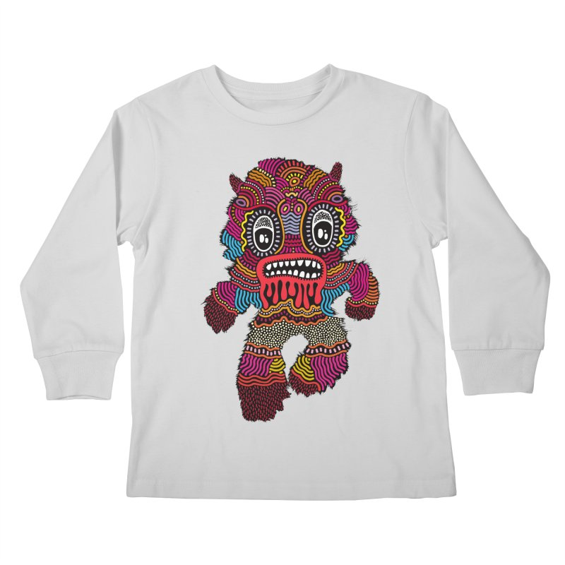 Monster of the day (June 20) [Year 1] Kids Longsleeve T-Shirt by Daily Monster Shop by Royal Glamsters