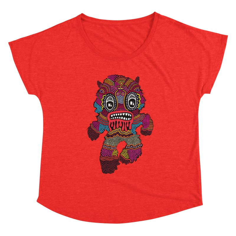 Monster of the day (June 20) [Year 1] Women's Scoop Neck by Daily Monster Shop by Royal Glamsters