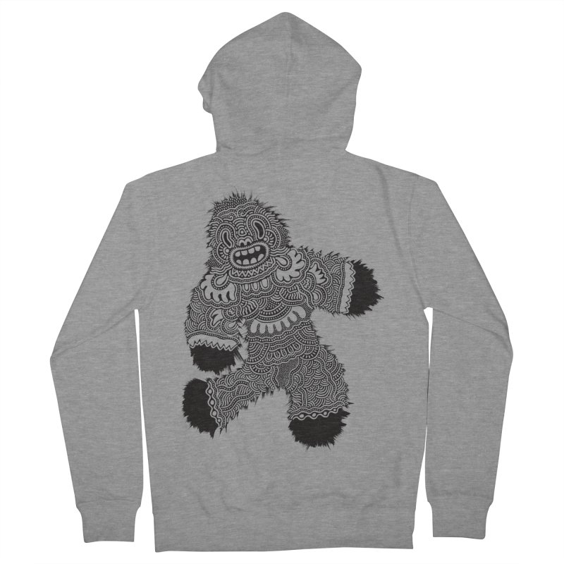 Monster of the day (November 13) [Year 1] Women's French Terry Zip-Up Hoody by Daily Monster Shop by Royal Glamsters