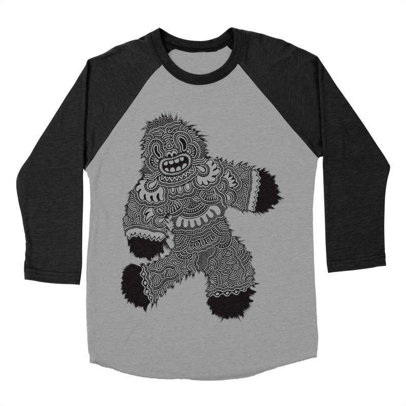 Monster of the day (November 13) [Year 1] Men's Baseball Triblend Longsleeve T-Shirt by Daily Monster Shop by Royal Glamsters