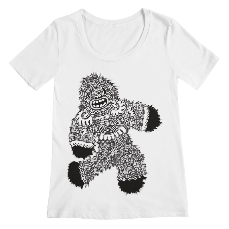 Monster of the day (November 13) [Year 1] Women's Regular Scoop Neck by Daily Monster Shop by Royal Glamsters