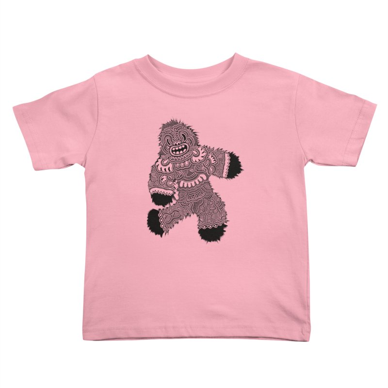 Monster of the day (November 13) [Year 1] Kids Toddler T-Shirt by Daily Monster Shop by Royal Glamsters