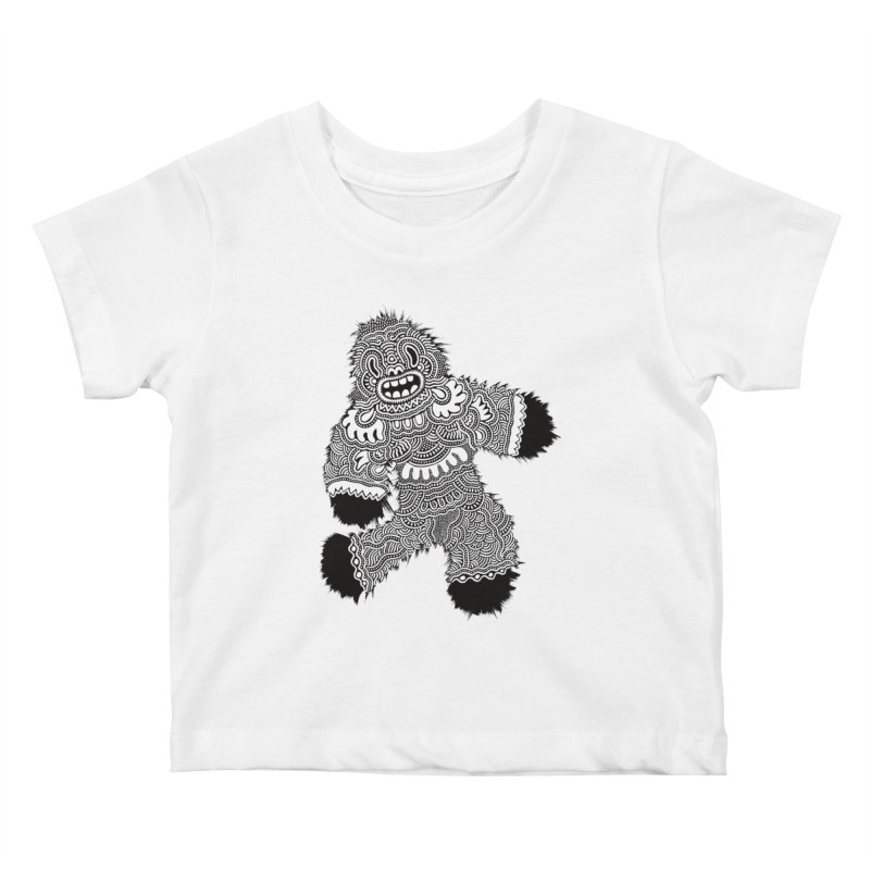 Monster of the day (November 13) [Year 1] Kids Baby T-Shirt by Daily Monster Shop by Royal Glamsters