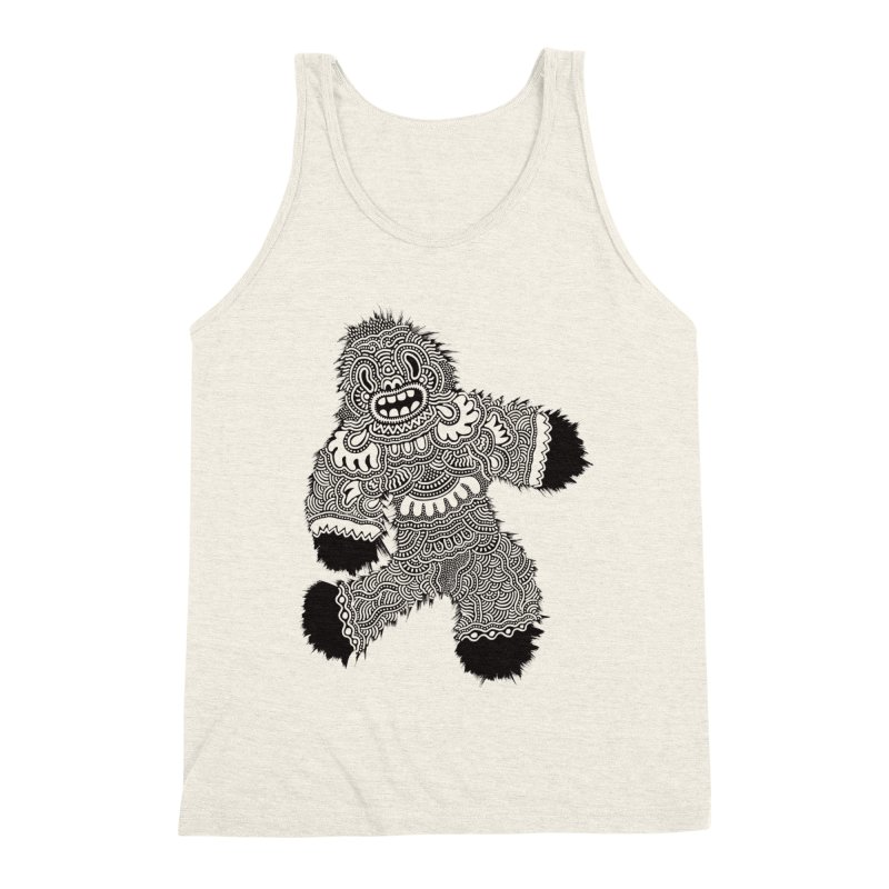 Monster of the day (November 13) [Year 1] Men's Triblend Tank by Daily Monster Shop by Royal Glamsters