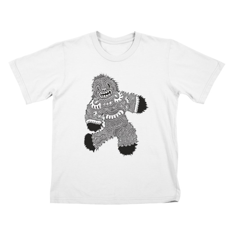 Monster of the day (November 13) [Year 1] Kids T-Shirt by Daily Monster Shop by Royal Glamsters