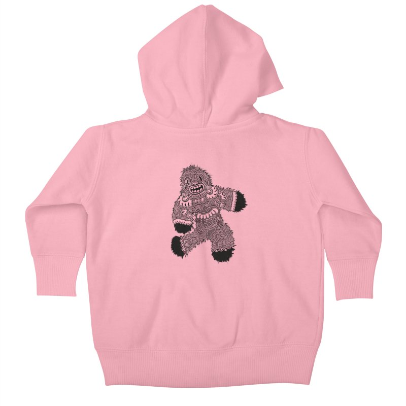 Monster of the day (November 13) [Year 1] Kids Baby Zip-Up Hoody by Daily Monster Shop by Royal Glamsters