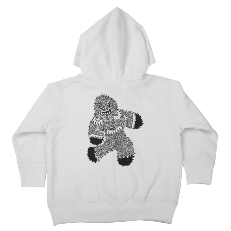 Monster of the day (November 13) [Year 1] Kids Toddler Zip-Up Hoody by Daily Monster Shop by Royal Glamsters