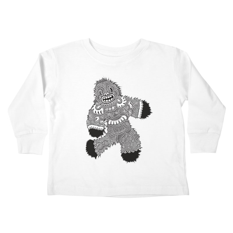 Monster of the day (November 13) [Year 1] Kids Toddler Longsleeve T-Shirt by Daily Monster Shop by Royal Glamsters