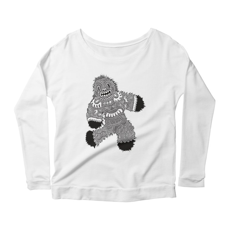 Monster of the day (November 13) [Year 1] Women's Scoop Neck Longsleeve T-Shirt by Daily Monster Shop by Royal Glamsters