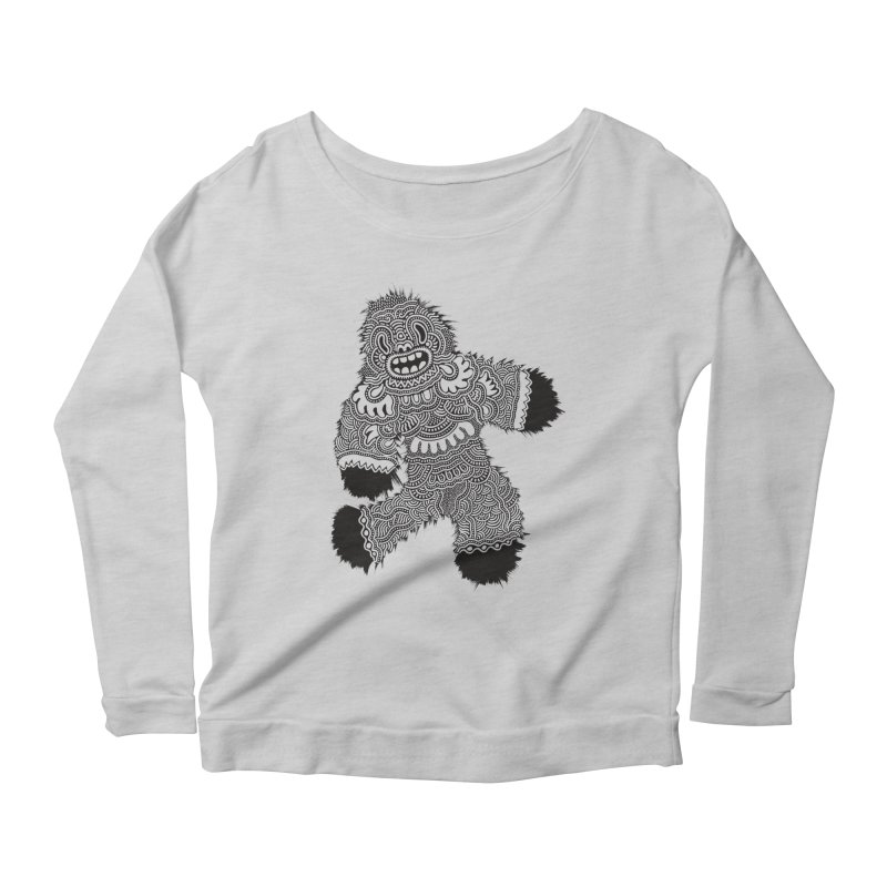 Monster of the day (November 13) [Year 1] Women's Longsleeve Scoopneck  by Daily Monster Shop by Royal Glamsters