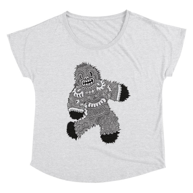 Monster of the day (November 13) [Year 1] Women's Dolman Scoop Neck by Daily Monster Shop by Royal Glamsters