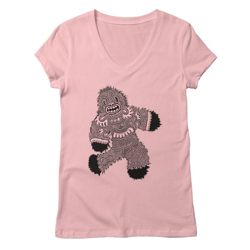 Monster of the day (November 13) [Year 1] Women's Regular V-Neck by Daily Monster Shop by Royal Glamsters